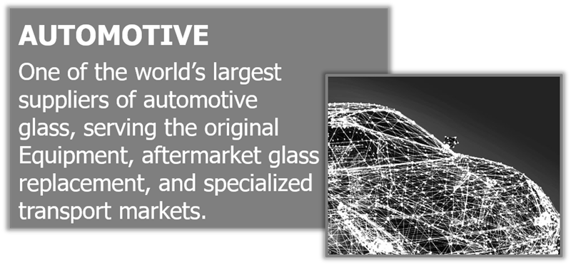 One of the world's largest suppliers of automotive glass.