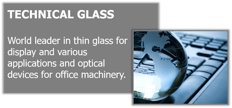 World leader in thin glass.