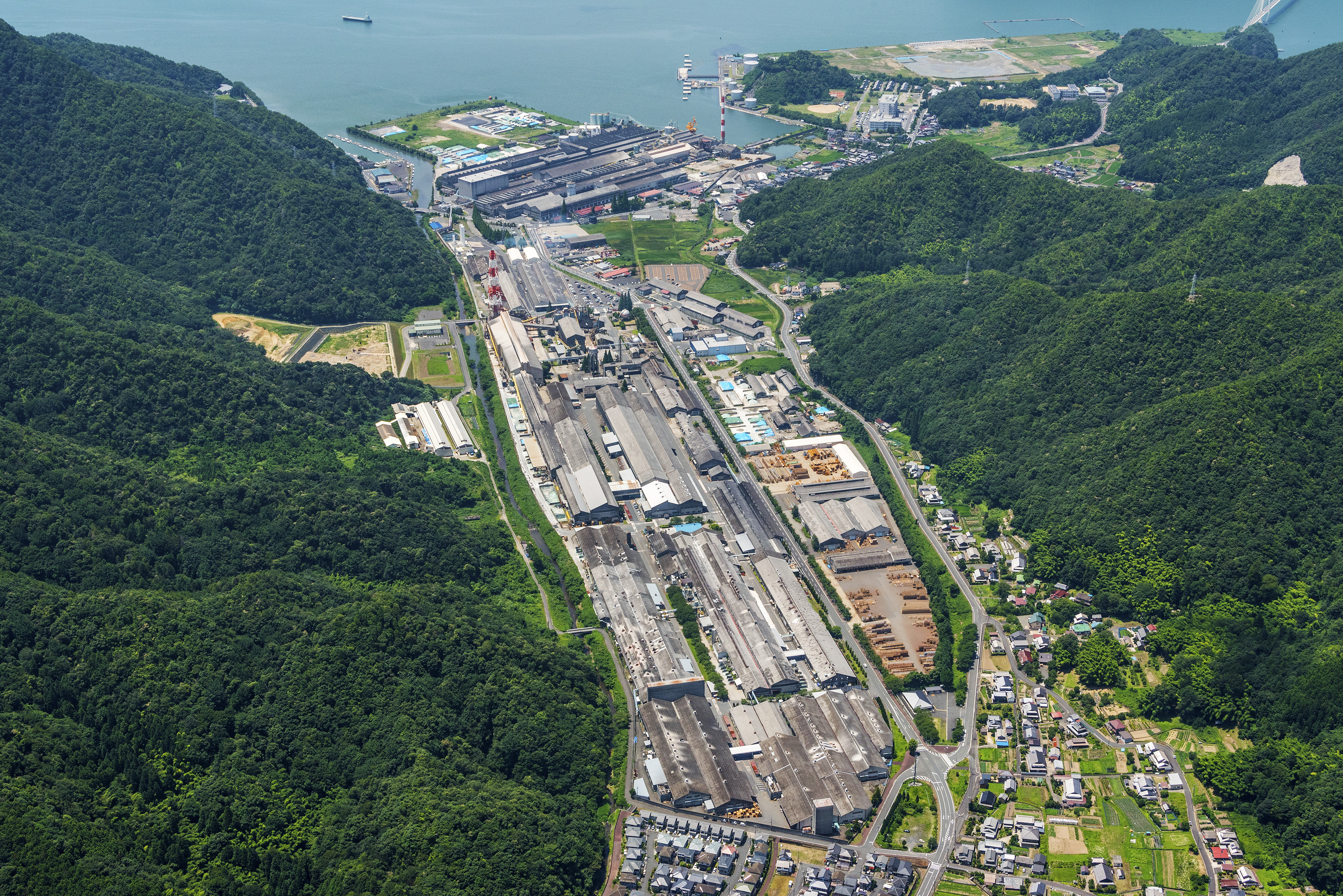 Maizuru Plant in Kyoto, Japan