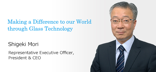 Making a Difference to our World through Glass Technology Keiji Yoshikawa