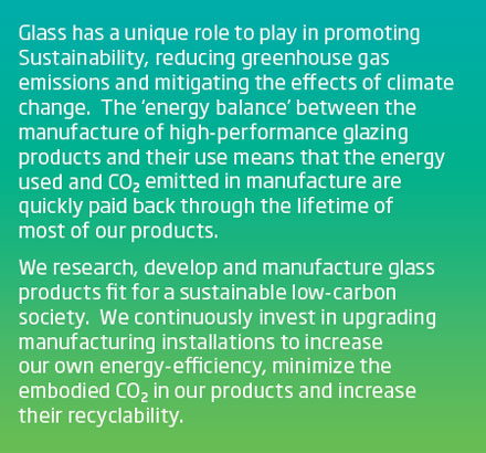 Key message - glass and climate change