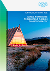 Sustainability Report 2015 Cover Image